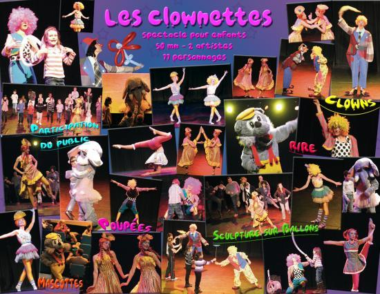 Documentation des Clownettes